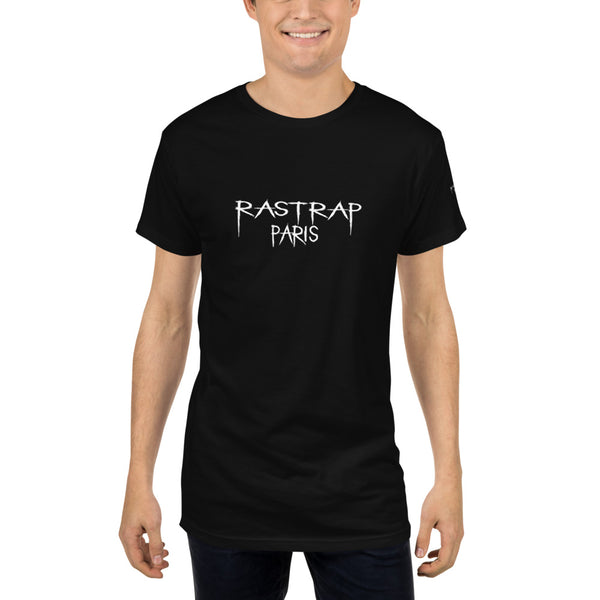 Rastrap White DarkSide Long Body Urban Tee