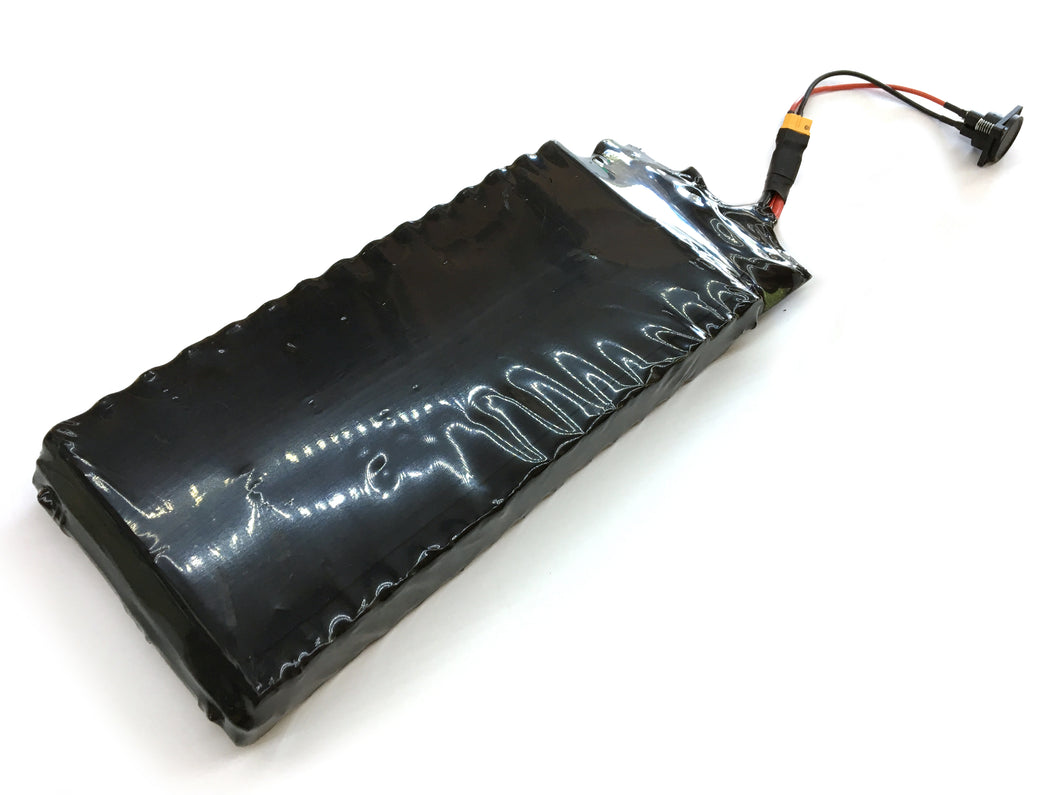 High Powered Electric Skateboard Battery Pack 43v 645Wh 12S5P Samsung INR18650-30Q