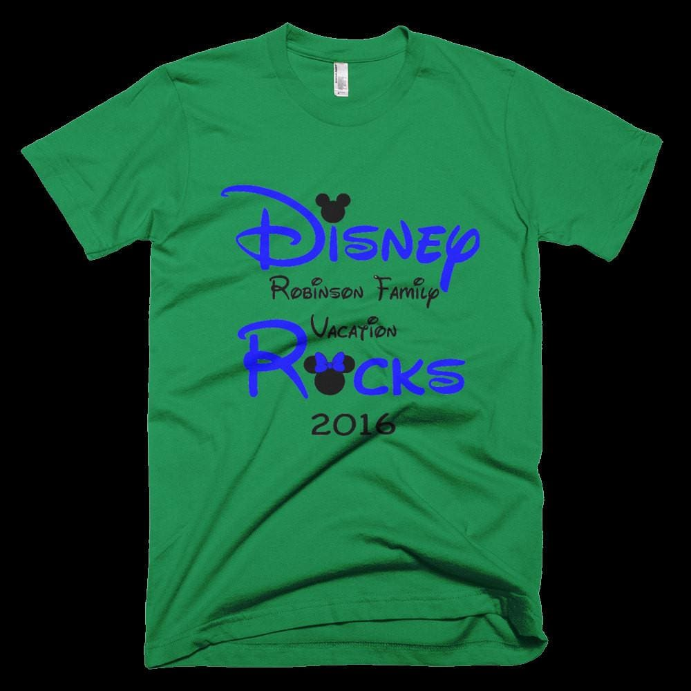 123geektees Disney Rocks Family Vacation T Shirt Personalized