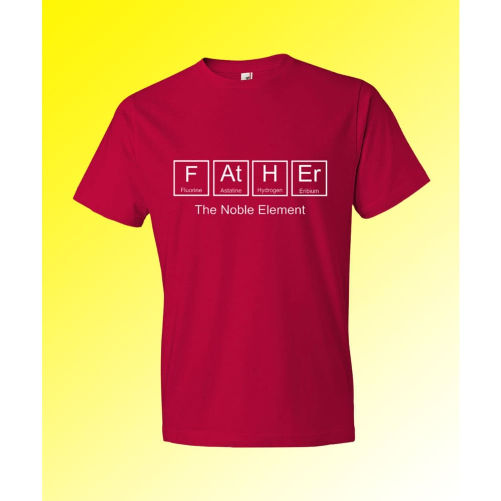 123geektees Father Periodic Table Shirt Father The Noble