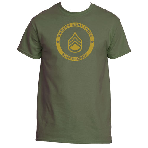69094bea8 Personalized Wac Womens Army Corps Ranks Shirt - Adult Unisex S / Military  Green