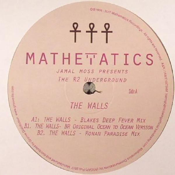 Jamal Moss Presents The R2 Underground   - The Walls EP
