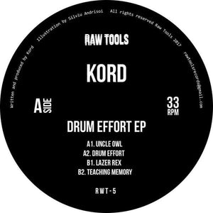 Kord    - Drum Effort EP