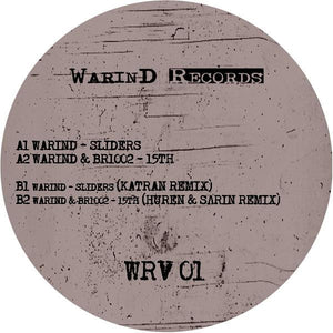 WarinD, B R 1 0 0 2  - WRV01 - Vinyl Records at The Sound Arcade