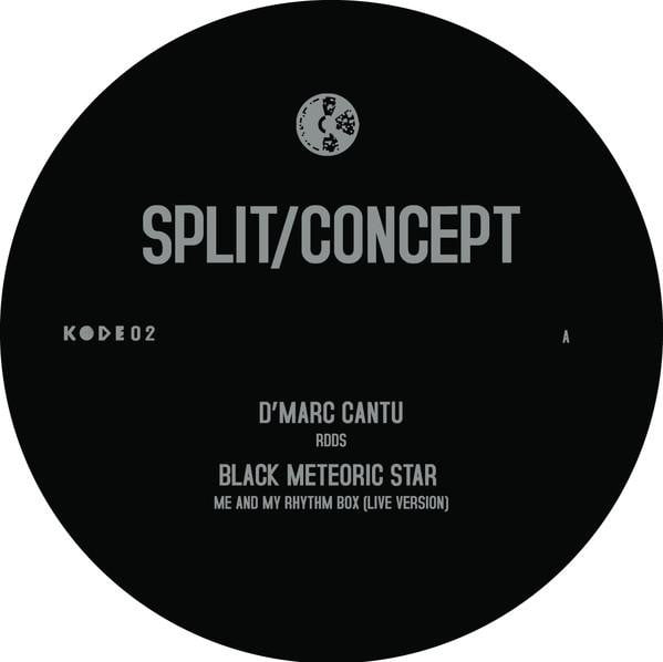 D'marc Cantu, Black Meteoric Star - Split Concept - Vinyl Record at The Sound Arcade