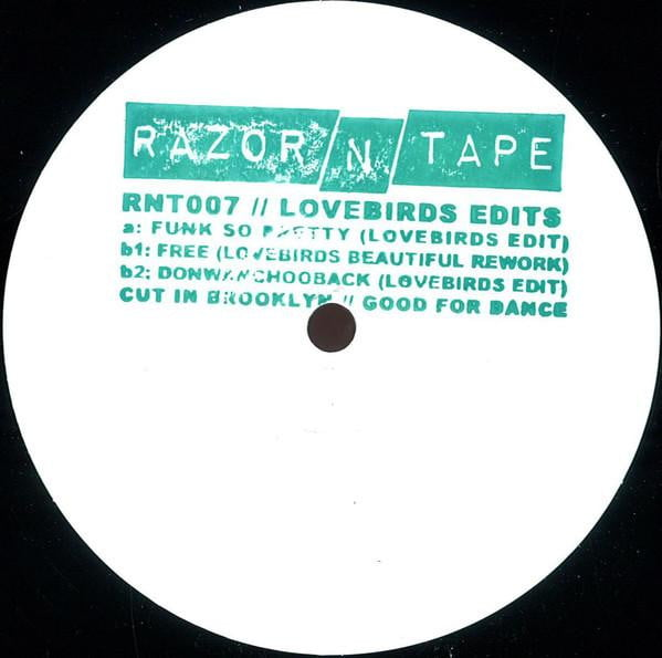 Lovebirds - Lovebirds Edits - Vinyl at The Sound Arcade
