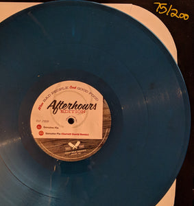 "DJ Jes / Studio Nova - When Bad People Cook Good Food - Numbered, Blue Vinyl 12"" Limited"