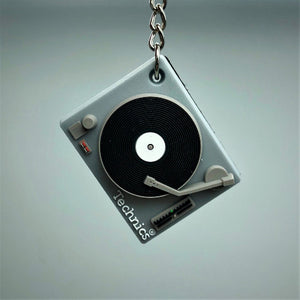 Technics Deck Keyring – Official Merhcandise - Silver Technics 1200 Version