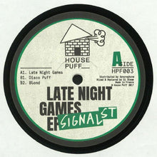 Signal Street - Late Night Games EP