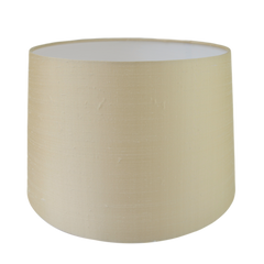 Customers Own Material Tapered Drum Lampshade