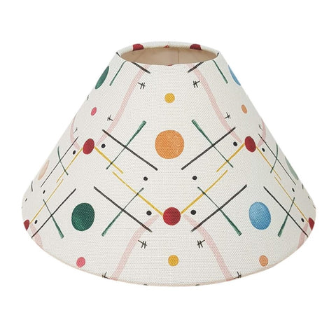 Customers Own Material Coolie Lampshade