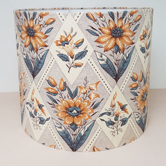 Customers Own Material Drum Lampshade