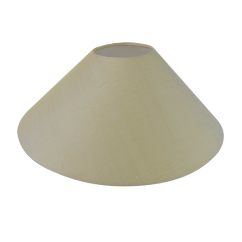 Munro and Kerr silk dupion cream coolie lampshade