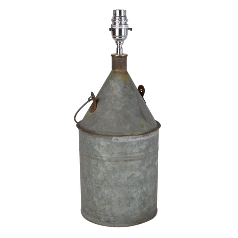 Vintage. Converted Oil Can Lamp Base