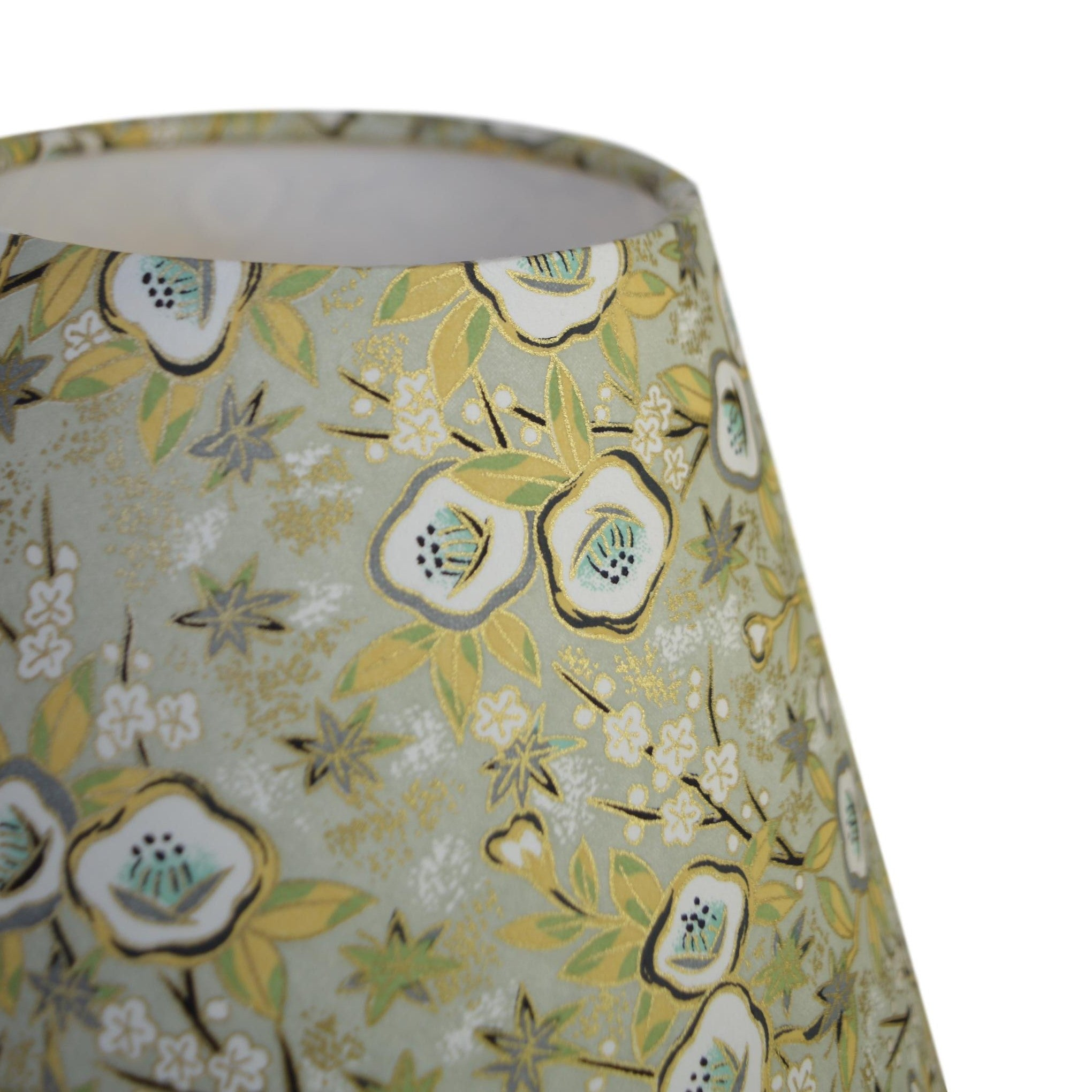 Munro and Kerr chiyogami paper for making into a tapered empire lampshade