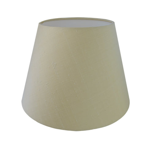 Munro and Kerr silk dupion cream empire lampshade