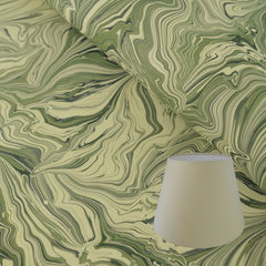 Munro and Kerr green malachite marbled empire lampshade
