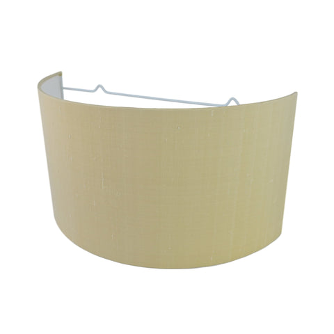 Munro and Kerr silk dupion cream wall mounted lampshade