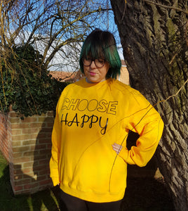 Choose Happy Sweatshirt