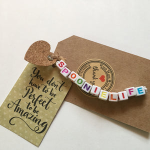 Warriortees Positivity Bracelets