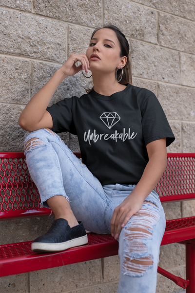 Unbreakable Black Tee