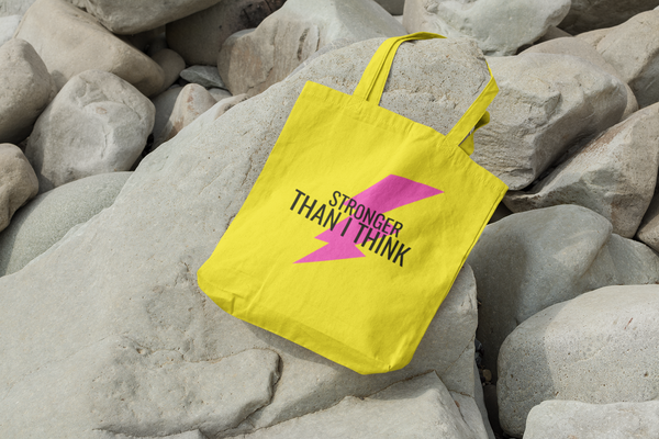 Stronger than I think tote