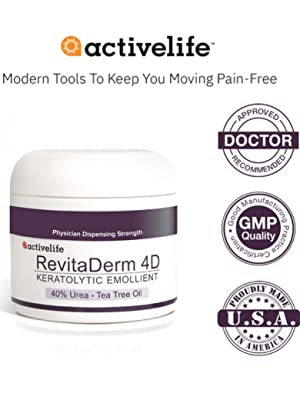 Activelife Revitaderm Foot Cream Compliance Logos