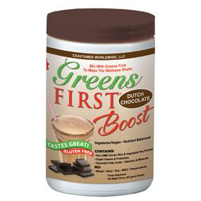 GREENS FIRST First Boost Dutch Chocolate (Gluten Free) | Active Life USA