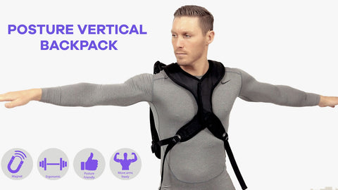 Human - Posture Vertical Backpack Press Release