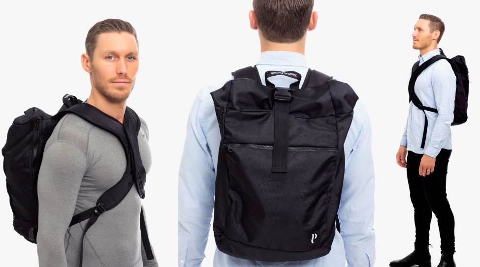 Clothing - Swedish Posture Vertical Backpack - Active Life USA