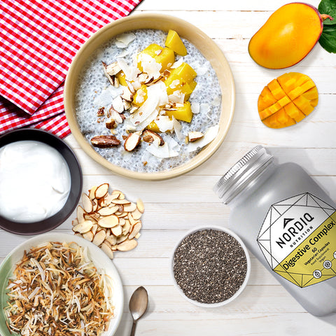 Mango Chia Pudding Ingredients