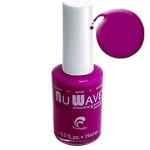 Nu Wave Nail Polish A10L Matte Purple Gina Lynn .5 Fl. Oz. Each NW-A10L - Active Life USA