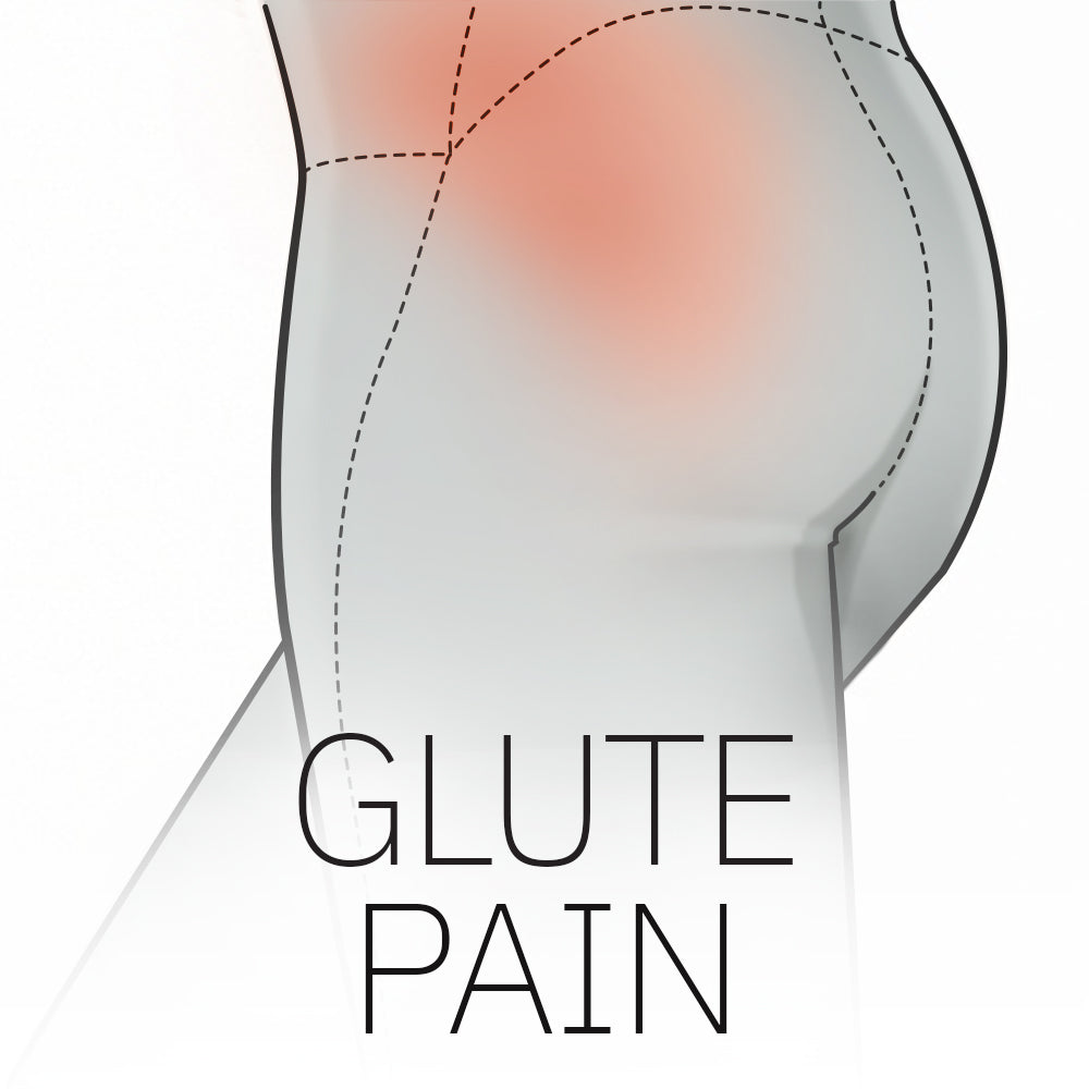 Lower body glute pain