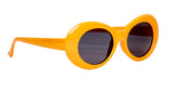 "Oval Orange ""Younglord"" Sunglasses"