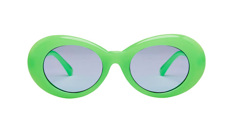 "Oval Green ""Lucy in the sky"" Sunglasses"