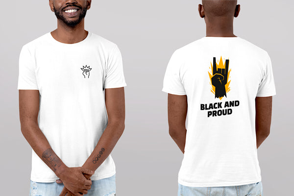 Camiseta Black & Proud - Unisex