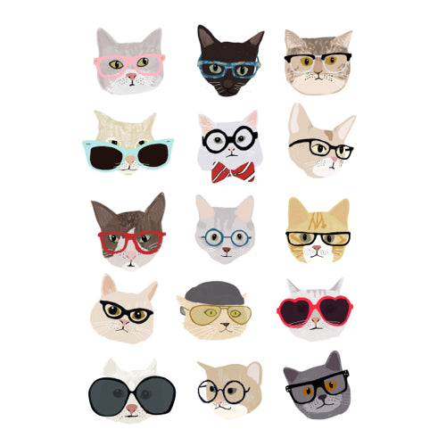 Cats with Sunglasses F