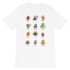 camiseta super héroe