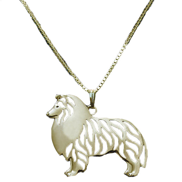 Silver and Gold Plated Puppy Necklace Collection