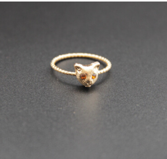 [HOT] Gorgeous Silver Cat Face Ring! [NEW]