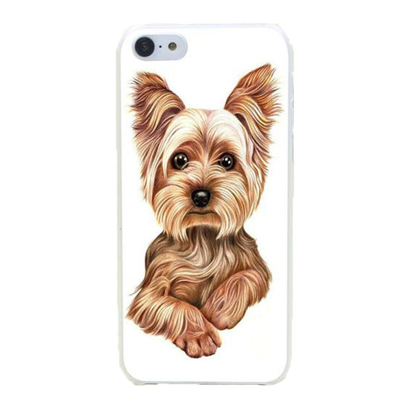 Hard Gorgeous Yorkshire Terrier Dog Puppy iPhone Cases