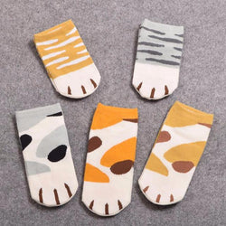 Cute Kitty Paw Socks!