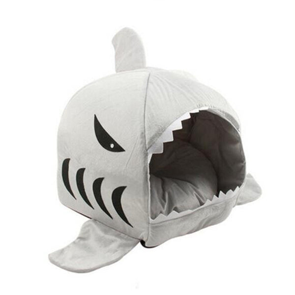 Soft - Puppy Shark Shaped Dog Home