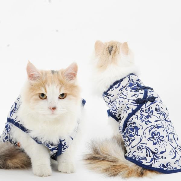 Classic Spring Retro Style Cat Outfit