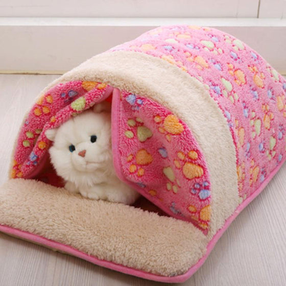 Warm Cat Sleeping Bag Designed Home