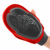 Duplex Mitt Massaging Rubber Glove For Dog Grooming!