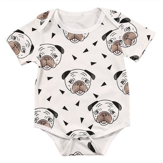 Buy Dog Printed Baby Clothes Online At Lowest Price Poochnkitty