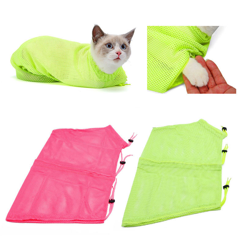 Anti Bite & Scrathing Cat Bathing and Cat Nail Clipping Bag