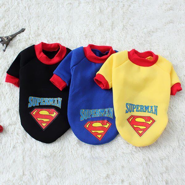 Superheroes Dog T Shirt