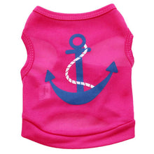 Cute Anchor T Shirt For Cats